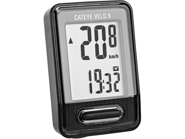 CatEye Velo 9 CC-VL820 Compteur de vélo, black